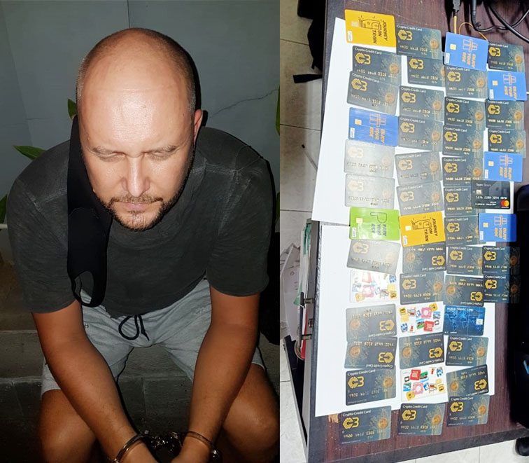 Estonian ATM scammer busted in Denpasar