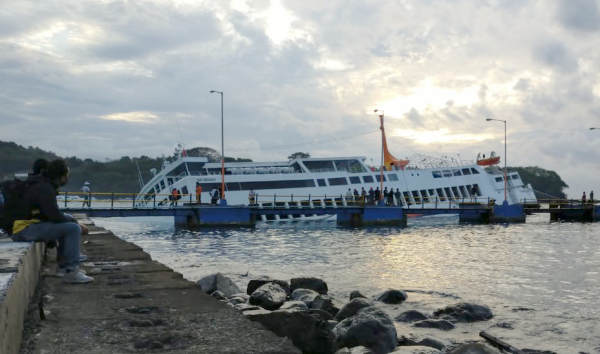 Capsized Ferry Padang Bai