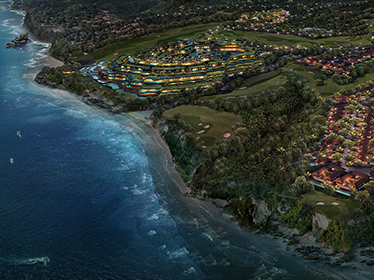 Trump's Tanah Lot ultra luxury project