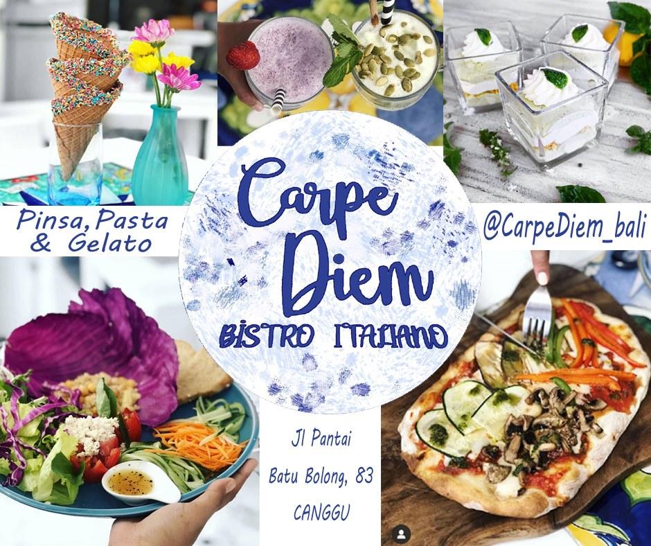 Italian Bistro Carpe Diem Canggu