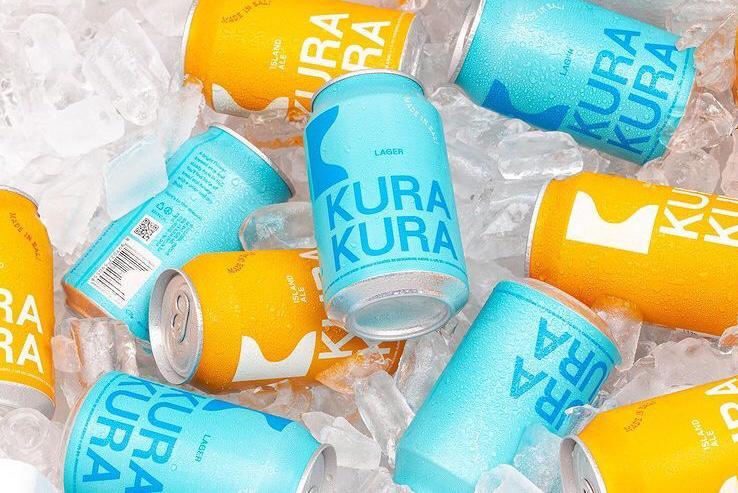 New Kura Kura Beer 100 % made in Bali