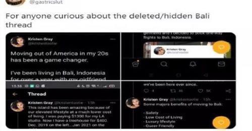 American twitterer hunted down in Ubud