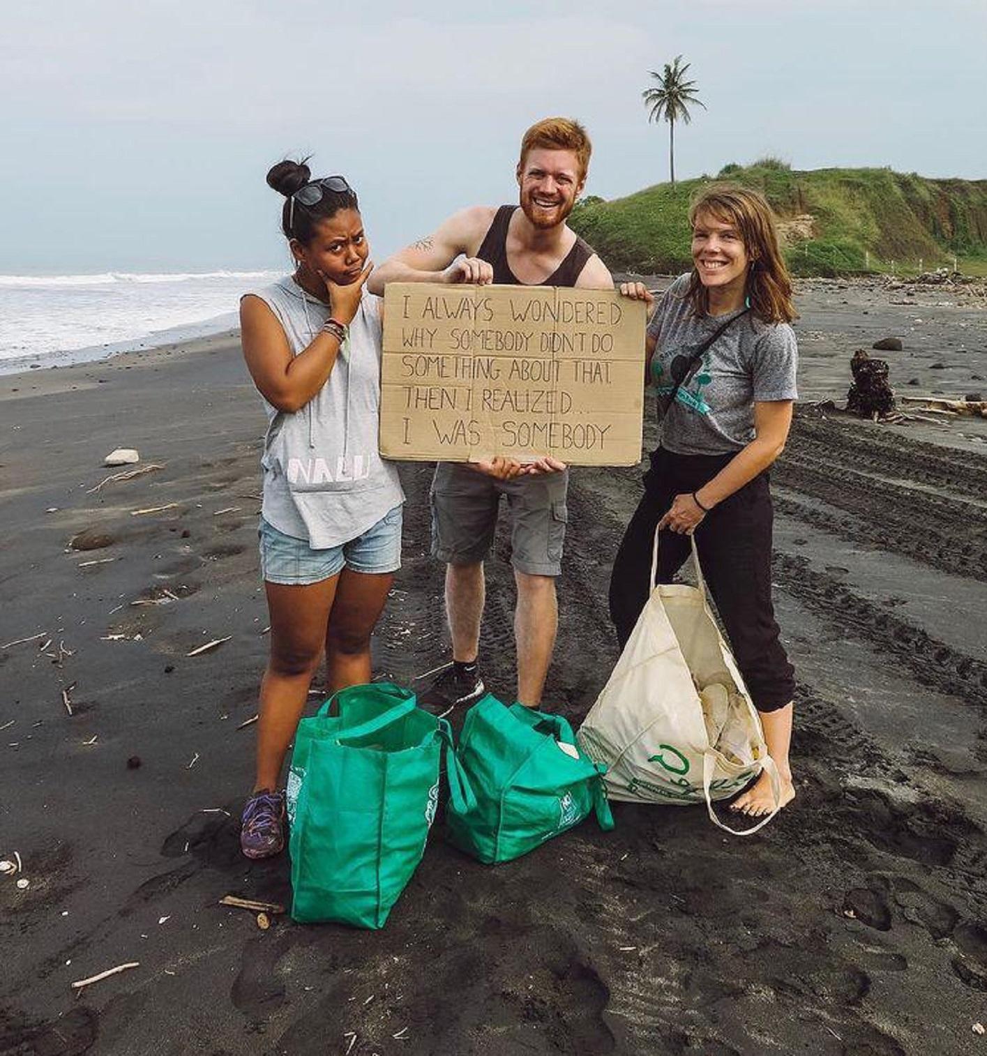 Mermaid's protest on Kuta Beach