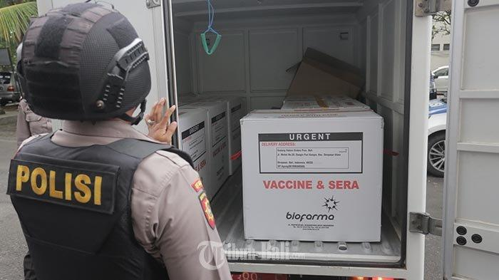 Bali vaccination campaign launched from January 14 2021