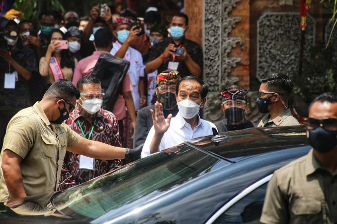 Jokowi Promised reopening Bali in June or July 2021