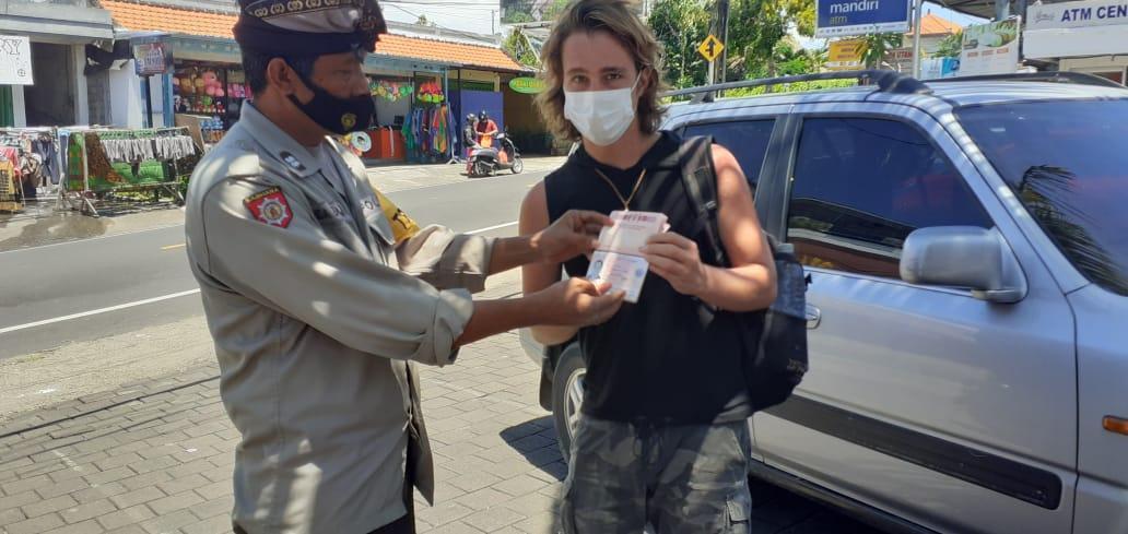 Russian beggar in Pecuta received final warning